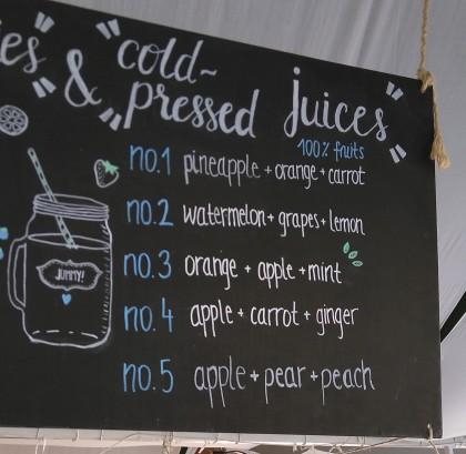 Korcula cold pressed juice